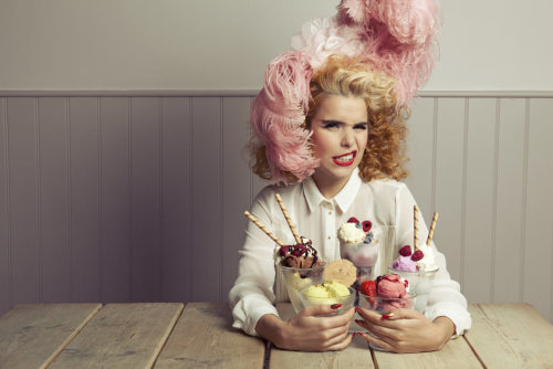 guardian:  Paloma Faith: 'I woo people with food, so I'm always cooking.' The singer on marzipan, boiled chicken and other formative foods Photograph: Alex Lake for Observer Food Monthly