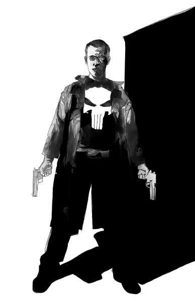 The Punisher  Jeff Dillon ArtFACEBOOK | STORE | ILLUSTRATION |DESIGN | WEB