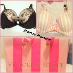 New bra from Victorias Secret👙 if you want to know more info go check out the blog post! http://momosmoment.com/victorias-secret-fitting-new-bra/ #momosmoment #momo #bra #victoriassecret #demicup #stripes #pink #vspink #girly #fashion #style #ootd #blogger #blog #lookbook #lace #sexy #cute #lingerie