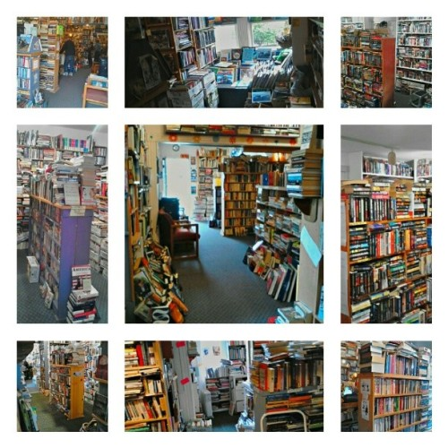 One of my most favorite places. Book chaos. It is pure beauty. #love #bookobsessed