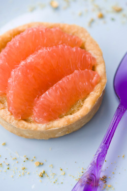 Recipe:  Earl Grey and Pink Grapefruit Tart