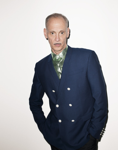 terrysdiary:  John Waters at my studio #4