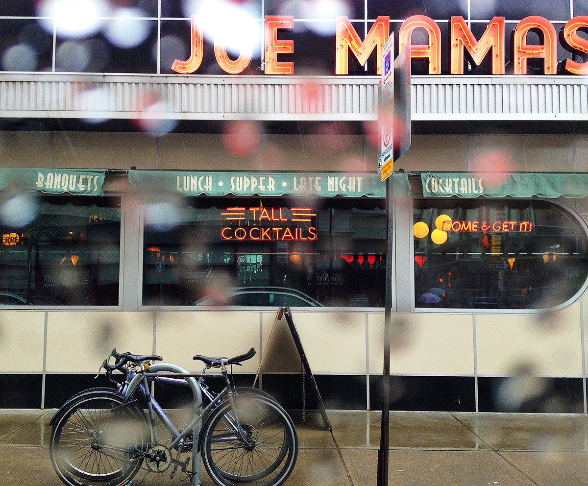 Joe Mamas in the rain Pittsburgh, PA