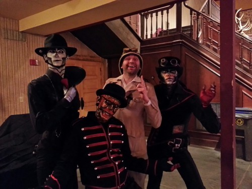 Steam Powered Giraffe with Professor Elemental