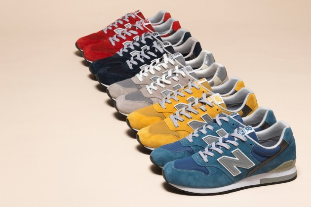 Always sticking to classics.  New Balance Fall 2013 M996 RevLite