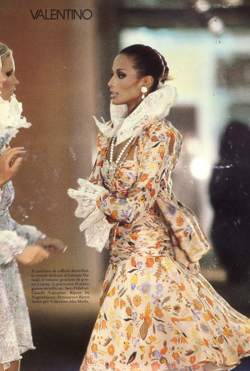 Harper's Bazaar Italia, March 1980Model : Beverly Johnson