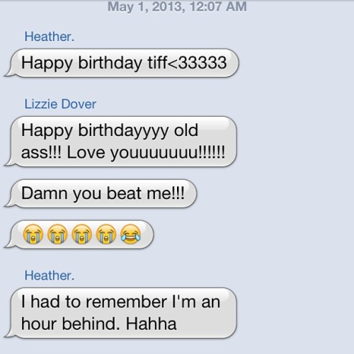 Haha this is what best friends are for. Love them. #groupchat