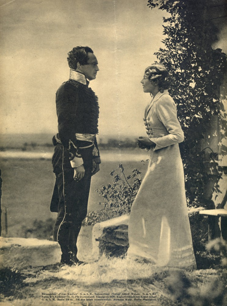 arkhangelskoye:  Conrad Veidt, Mady Christians in Der schwarze Husar (1932)   'see i'm wearing the skirt now. like i'm supposed to.', 'i don't like it. take it off. gif eet to me.', 'hansgeorg darling you have to stop stealing my wardrobe. it's not right', 'no what is not right ees you wearing that skirt instead of me.', 'my love look at that gold lamé sash. is that not enough?', 'no eet is not enough…but i vill trade eet to you for the skirt if you like.', '*sigh of resignation*'.