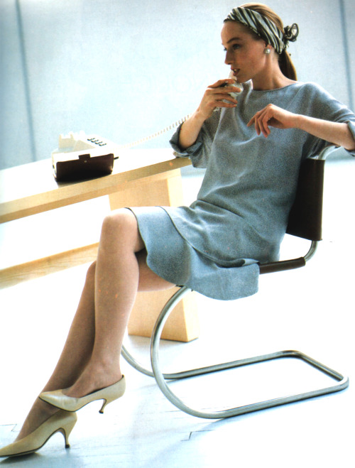 periodicult:  Perry Ellis, American Vogue, March 1988.