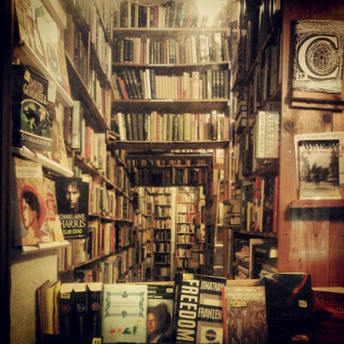 Edinburgh bookshop