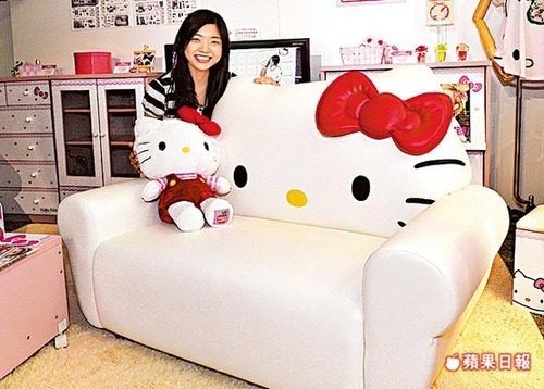 Hello Kitty Love Seat