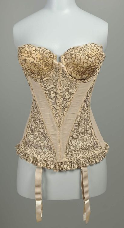 omgthatdress:  Girdle 1960s The Museum of Fine Arts, Boston