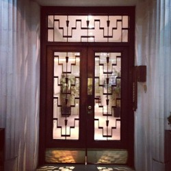 #artdeco #door #exterior #design #architecture #art #belgium #bruxelles #deco #vintage #retro  (at Earls Court)
