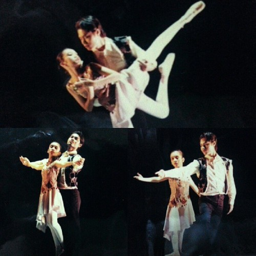 Whoa. I started young with pas de deux! This was either 1996 or 97. So I was either 12 or 13! And this wasnt my first. Haha! #pahirapanthrowback #ballet #throwbackthursday #tbt #pinktoes #pasdedeux #ballerina #instagram #instacollage #dance #dancer