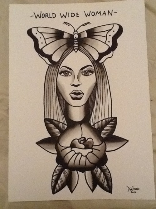Finished beyonce today