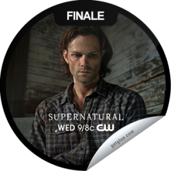 I just unlocked the Supernatural: Sacrifice sticker on GetGlue                      3447 others have also unlocked the Supernatural: Sacrifice sticker on GetGlue.com                  What will be sacrificed to close the gates of Hell? Thanks for watching the season finale of Supernatural! You've just unlocked the 'Sacrifice' sticker. Share this one proudly. It's from our friends at The CW.