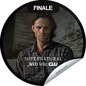 I just unlocked the Supernatural: Sacrifice sticker on GetGlue                      9025 others have also unlocked the Supernatural: Sacrifice sticker on GetGlue.com                  What will be sacrificed to close the gates of Hell? Thanks for watching the season finale of Supernatural! You've just unlocked the 'Sacrifice' sticker. Share this one proudly. It's from our friends at The CW.