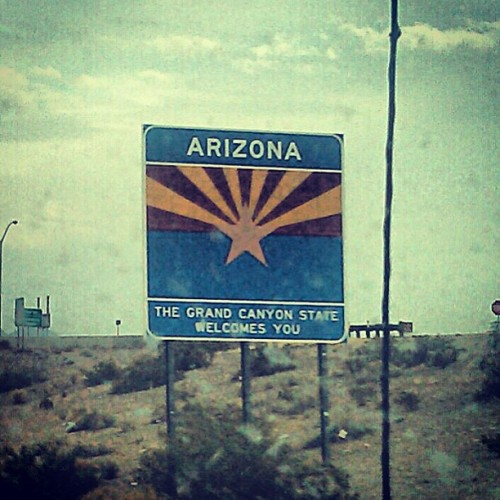 Arizona!  We in this Bish!!!!!