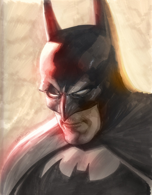 Batman by Yu.