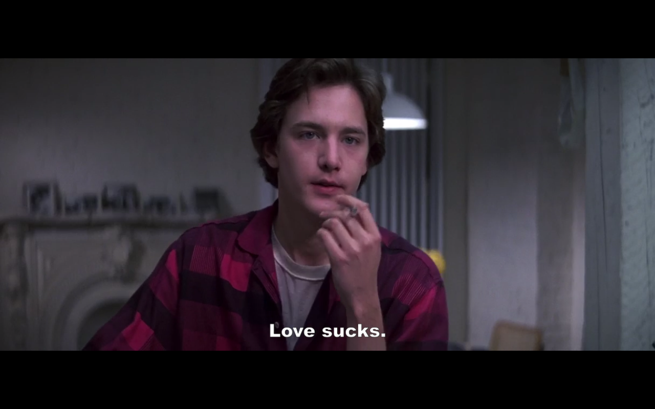 Andrew McCarthy in St. Elmo's Fire (1985)