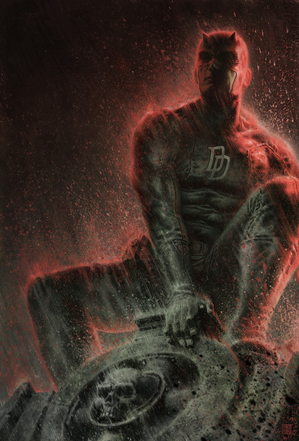 Daredevil Film Rights Back with Marvel Studios Great news for fans of Marvel Studios and their Cinematic Universe. Daredevil, of which Fox had the rights for, is now back in the hands of Marvel Studios, meaning that we could see Daredevil enter the Cinematic Universe. The news, confirmed by Kevin Feige at the Iron Man 3 press event, is great news. Back in 1990, before Marvel Studios was an active production company, they sold off the rights to multiple projects which included X-Men, Spiderman and Daredevil. This explains the reboots of X-Men and Spiderman so soon. If Fox and Sony don't actively produce films based on those IPs, the rights revert back to Marvel. This was the case with Daredevil. The hope is for Marvel to acquire all of the film rights back to their franchises. Through doing so, they could introduce the regular Avengers team members like Wolverine and Spider-man. The best part? A possible Civil War film. This is the first step in getting some of those IPs back. My guess? They get the Fantastic 4 and Blade franchises back next. As for what to do with Daredevil? If it were up to me, I would have kept this a secret and then debuted him on the Agents of S.H.I.E.L.D. TV show. That would have got people talking. Check It: More comics on AlbotasBuy It: Marvel Cinematic Universe Phase One box set
