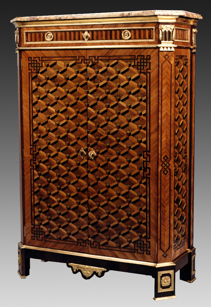 Cabinet - Jean Chrysostome Stumpff, circa 1775