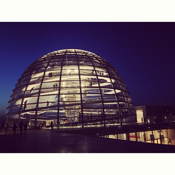 Amazing view from the top. #reichstag #parliament #berlin #Germany #madridtomunich   (at Reichstag)