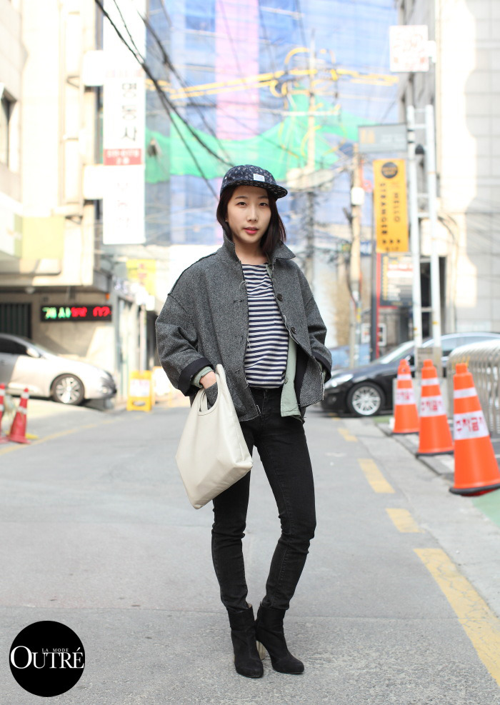 lamodeoutre:   On The Street, Seoul… Juyeon Woo