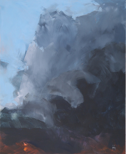 paulbaileyart:  Squall front18 x 22 inches2013   Paul Bailey makes a lot of gorgeous art, but this is the most stunning work I've seen from him yet. Gotta buy one of his paintings someday…