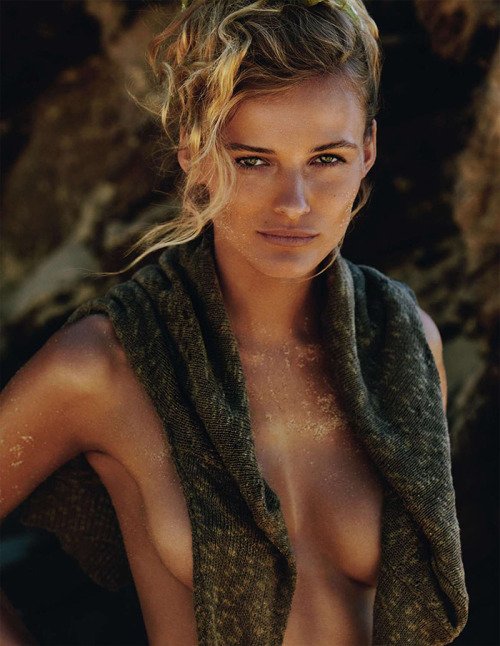 stormtrooperfashion:  Edita Vilkeviciute by Gilles Bensimon for Vogue Paris, June 2013