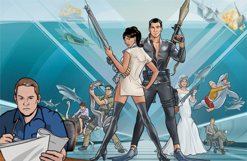 Our live Q&A with Archer creator Adam Reed starts in an hour. Check it: UPROXX Live Discussion With 'Archer' Creator Adam Reed