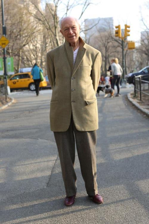 "humansofnewyork:  ""If you could give one piece of advice, what would it be?""""Be in love.""""How many times have you been in love?""""Once."" And then he walked away."