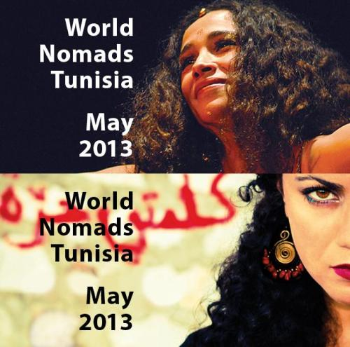 Don't miss two awesome concerts with leading Tunisian singers Ghalia Benali and Emel Mathlouthi, part of French Institute Alliance Française Festival World Nomads Tunisia! Enjoy Ghalia's soulful melodic songs 5/15 and Emel's powerful fiery music on 5/22. Get the two ticket package and save!  Details Ghalia: http://bit.ly/11WFsce   Details Emel: http://bit.ly/ZXmZ0J