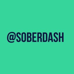 #follow me on #twitter @soberdash
