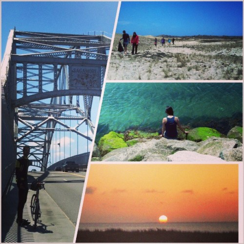 A bicycle tour from Boston to Cape Cod. So beautiful, so worth it. It took us about 12 hours to get from Boston to Provincetown, and it was fantastic every step of the way.