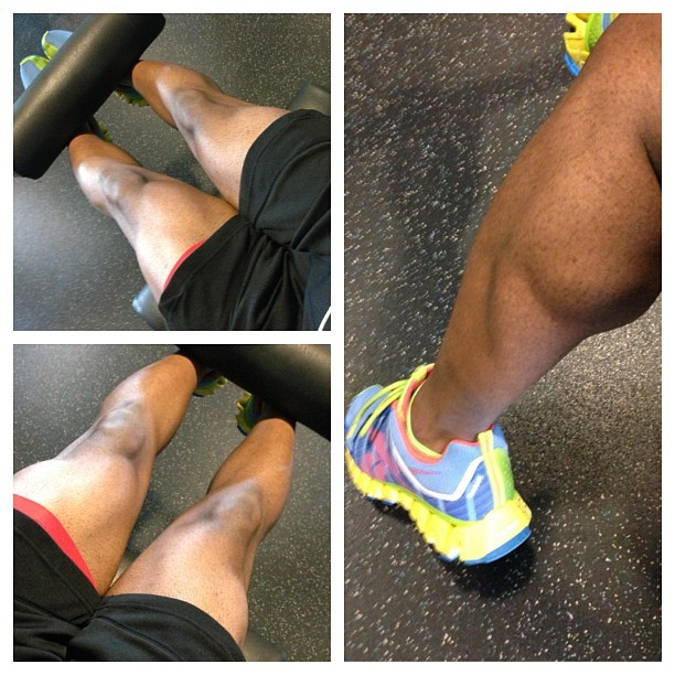 benjamintrey:  Working on getting these legs back right. COME ON LEGS! Lol! #FITNESS
