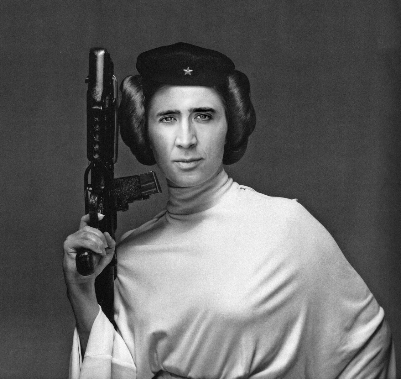 Ari loves Nic Cage and Star Wars. :)