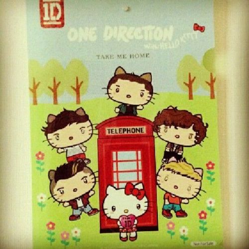 Hello Kitty x One Direction?