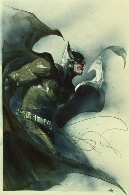 araphiel:  Batman Cover by Gabriele Dell'otto