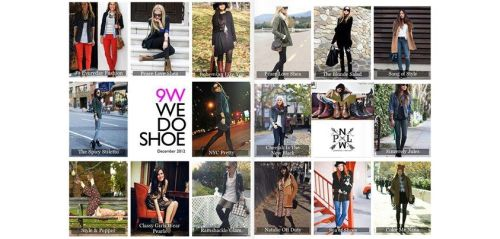 9W ♥'s BloggersCheck out our Nine West 2012 Blogger Year in Perspective feature in Glossi and try to see if you can recognize your favorite fashionistas.http://glossi.com/NineWest/4556-2012-nine-west-blogger-style
