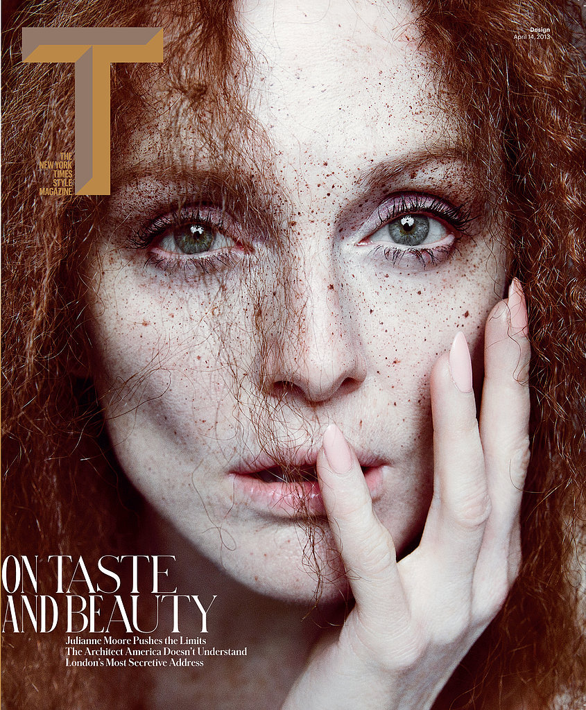 Julianne Moore: The Fairest of Them All - T Style Design by Inez & Vinoodh, Spring 2013