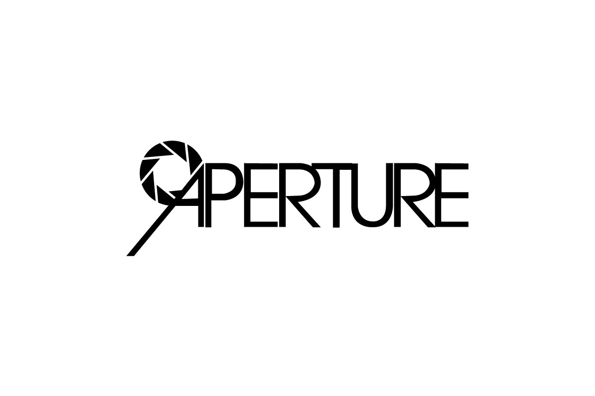 "Aperture logo. Before ""Stem & Thorn"" was created I was playing around with naming the brand ""Aperture"".  I ultimately decided against it because I didn't want to have to spell it for people every time I told them the name of my brand. If I only had an elevator ride to pitch my brand I didn't want to spend most of the time spelling it. But here's what the logo might have looked like if I had stuck with that name."