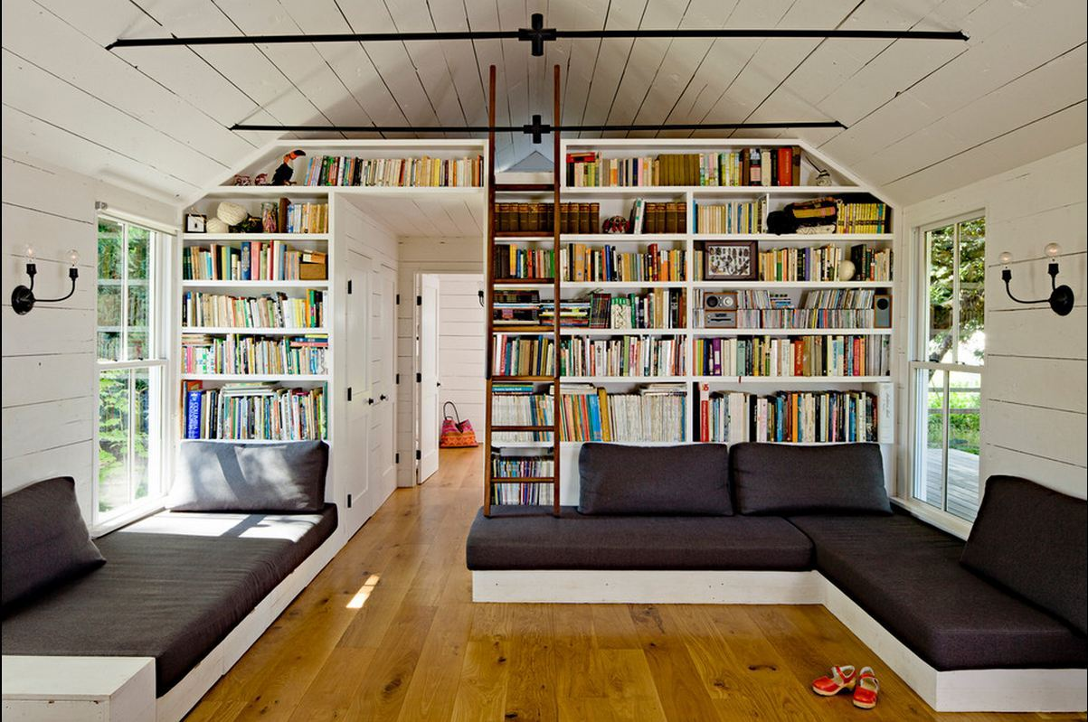 Would kill for this home library