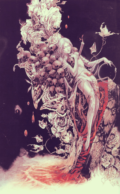 fuckedwithoutyou:  Artwork by Ayami Kojima