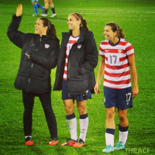 Taley #KelleyOHara #AlexMorgan #TobinHeath