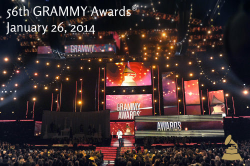 Music's Biggest Night, the 56th Annual GRAMMY Awards, will return to Los Angeles' Staples Center on Sunday, Jan. 26, 2014, and will be broadcast on CBS. The eligibility year for the 56th Annual GRAMMY Awards is Oct. 1, 2012, to Sept. 30, 2013.