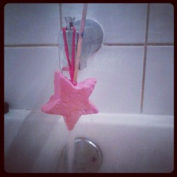 This, my friends, is how a champ uses a reusable bubble bar. #lush #bathchampion