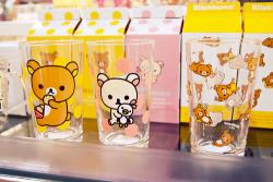 cute japan kawaii pastel rilakkuma glass san-x pastel blog kawaii blog cute blog