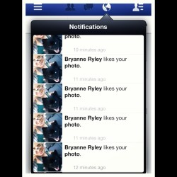 When she isn't attacking me via Snapchat.. Facebook pays the price.. @bryryley
