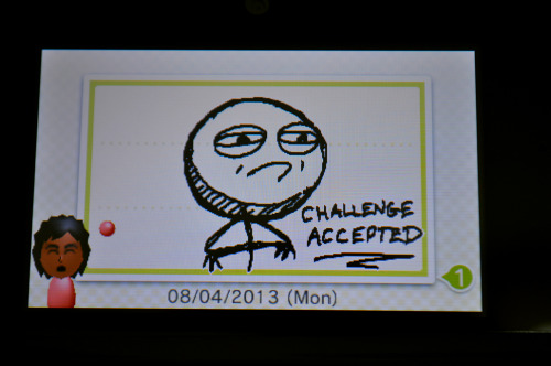 3DS Letterbox/Swapnote scribbles GPOY - challenges accepted…ALWAYS